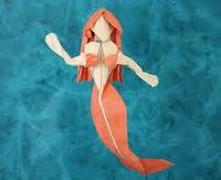 how to make an origami mermaid mermaid quentin trollip gilad s origami page