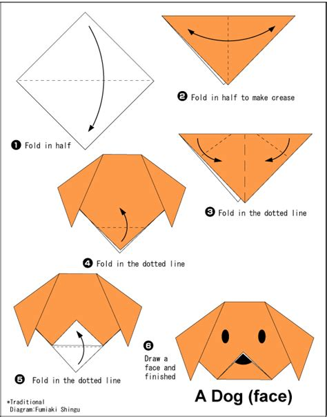 simple animal origami easy origami for