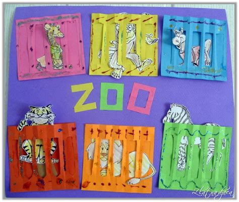 zoo crafts for 17 best images about preschool zoo animals on