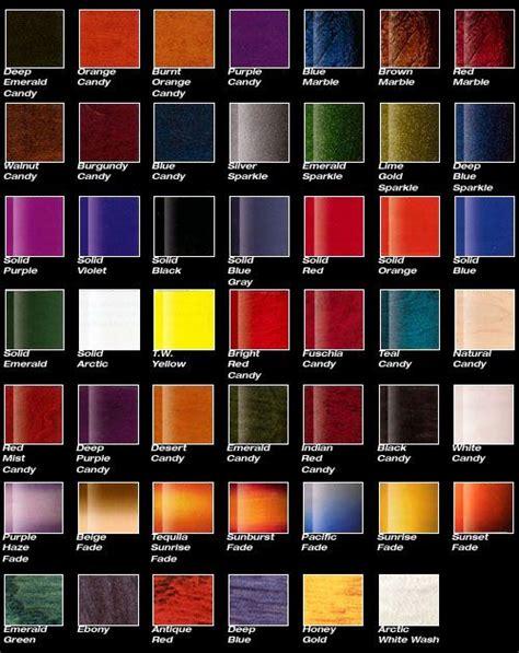 paint colors vehicle 12 best car paint charts images on