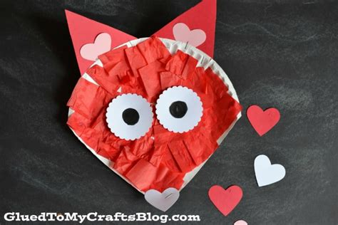 paper craft valentines paper plate crafts for preschoolers how wee learn