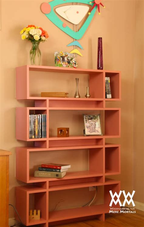 single bookshelves single sheet of plywood bookcase woodworking for mere