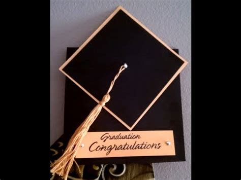 how to make graduation cards how to make a tassel graduation cap card