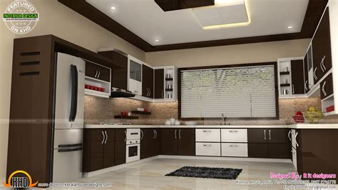 house interior design kitchen kerala home design and floor plans interiors of bedrooms