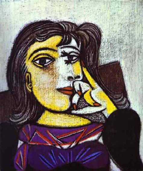 picasso paintings portraits portrait of maar 1937 by pablo picasso