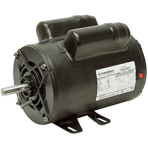 Electric Motor Breakdown by 2 Hp 115 230 3450rpm Marathon Air Compressor Motor Ac