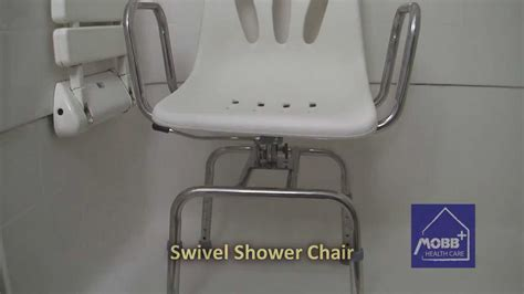 swivel shower chairs mobb swivel shower chair