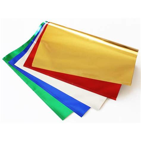craft paper sheets metallic paper sheets pk25 bright ideas crafts