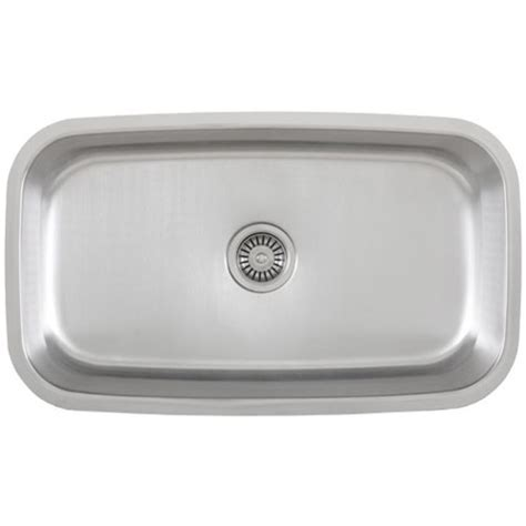 kitchen sink stainless 30 inch stainless steel undermount single bowl kitchen