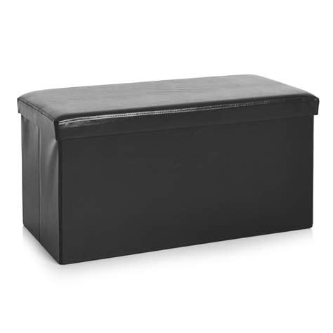 black leather storage ottomans black leather storage ottoman 28 images leather