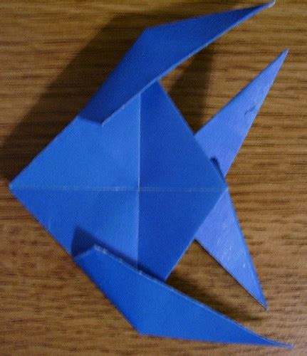 tropical fish origami origami tropical fish by knifejosh on deviantart