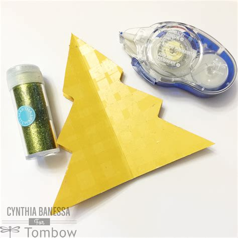 paper craft blogs paper craft tree tombow usa