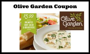 olive garden coupon 5 99 unlimited soup salad lunch combo