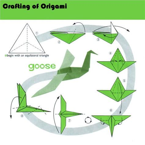 how to make a origami goose 20 best images about how to make origami on
