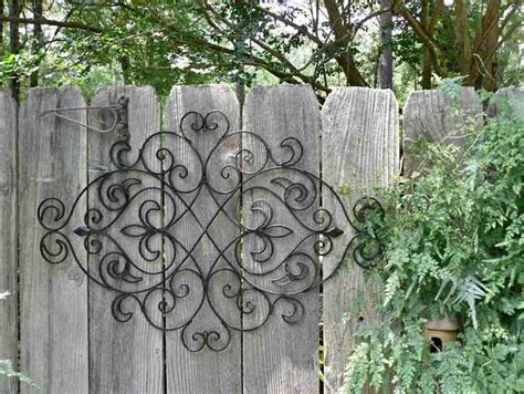 garden wall decor wrought iron large outdoor wrought iron wall decor decor ideasdecor ideas
