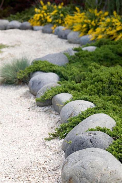 rocks for garden edging garden edging ideas transform your garden today