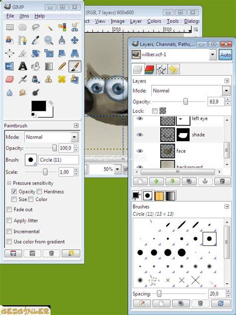 paint tool sai indir gezginler gimp ekran g 246 r 252 nt 252 s 252 gezginler