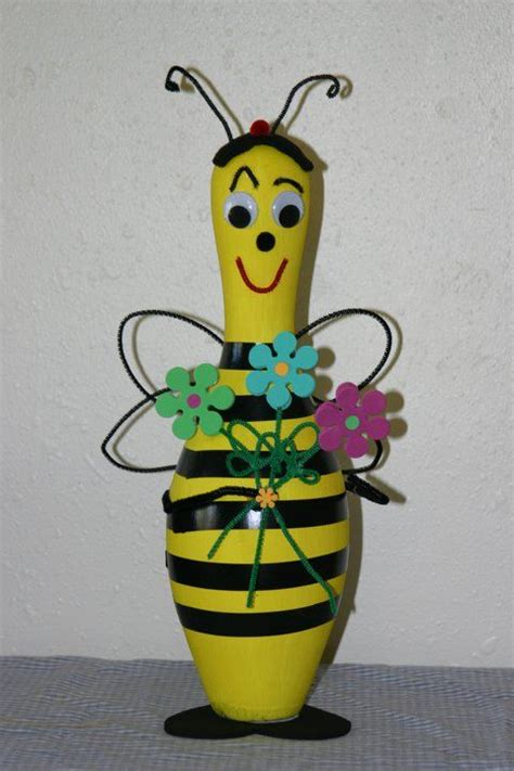 bowling pin craft projects best 25 bowling pins ideas on