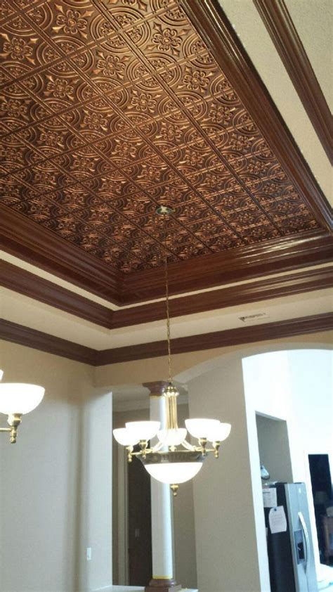 faux ceiling tiles wrought iron faux tin ceiling tile glue up 24 x24