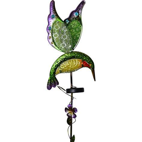moonray solar lights moonrays solar hummingbird stake light