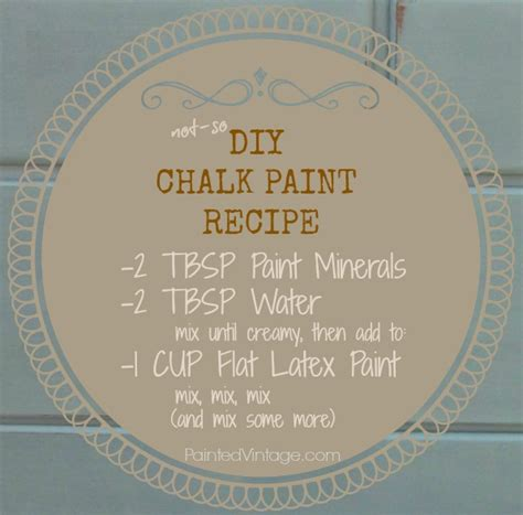 chalk paint recipe paint recipes and cake ideas and designs