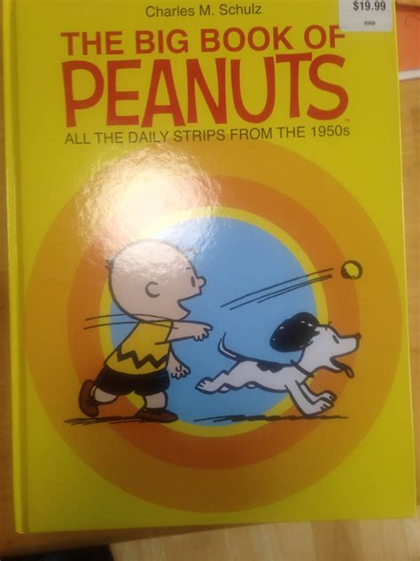 big book of the big big book of peanuts strikes again the aaugh