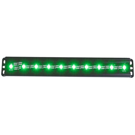 led light bar ebay anzo usa 861151 slimline led light bar 12 quot green leds ebay