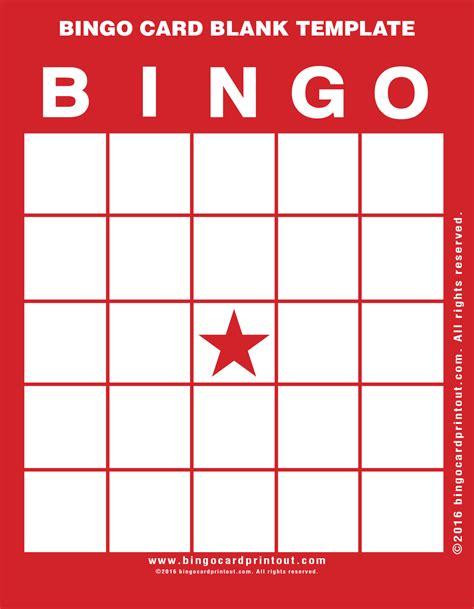 how to make blank cards bingo card blank template bingocardprintout