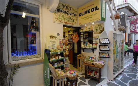 How To Do Interior Design olive oil beauty store shopping in mykonos mykonos