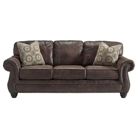faux leather loveseat sleeper breville faux leather size sleeper sofa in espresso 8000339