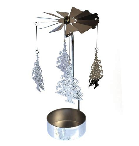 tea tree light holders tree silver rotating tea light holder t light