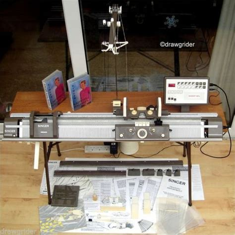 how to use singer knitting machine details about singer superba 624 electronic knitting