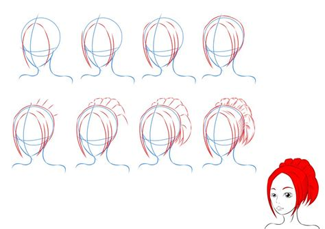 how to draw anime how to draw anime hair by lilliy22 on deviantart