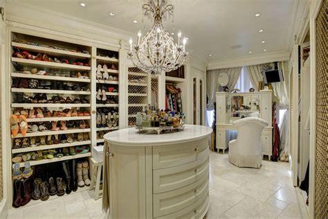 chandelier in closet 35 beautiful walk in closet designs designing idea