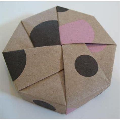 big origami box tree hugger box origami octagon boxes kraft patterned