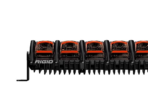 rigid 10 led light bar rigid industries 10 quot adapt road led light bar 21041