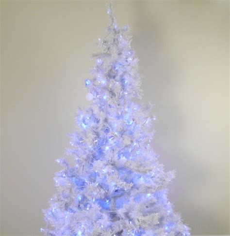 blue pre lit tree pre lit white tree with blue lights ebth