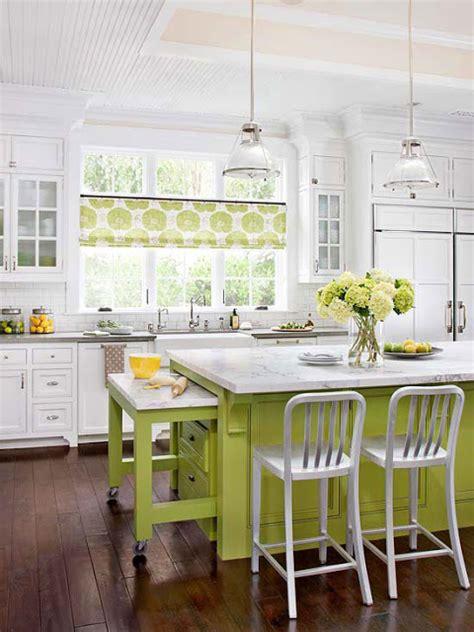 modern furniture 2013 white kitchen decorating ideas from bhg