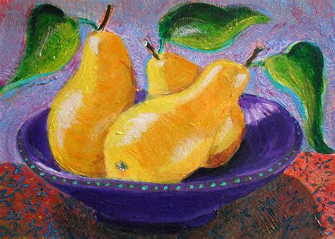 acrylic painting fruit fruit still heni s happy paintings