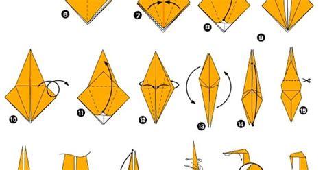 origami monkey diagram origami de singe origami origami monkey