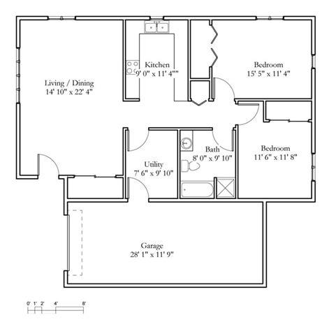 2 bedroom cottage floor plans cottage sle floor plans meadowlark continuing