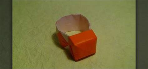 how to make a paper ring origami how to make a ring from folded paper with origami 171 origami