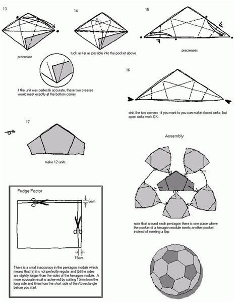 how to make a origami soccer 16 best photos of paper origami directions paper