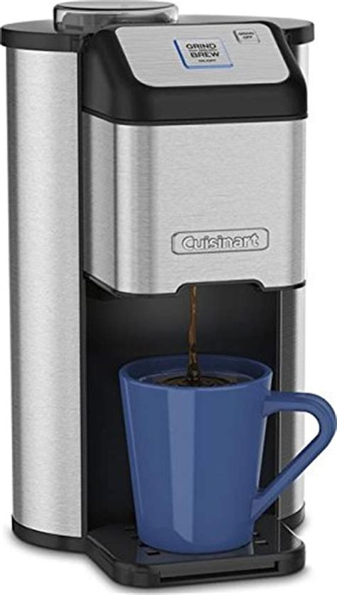 Review of Cuisinart Single Cup Grind & Brew Coffeemaker   Coffee Gear at Home