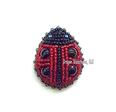 beaded ladybug pattern bug gifts butterfly supplies and birthday gifts