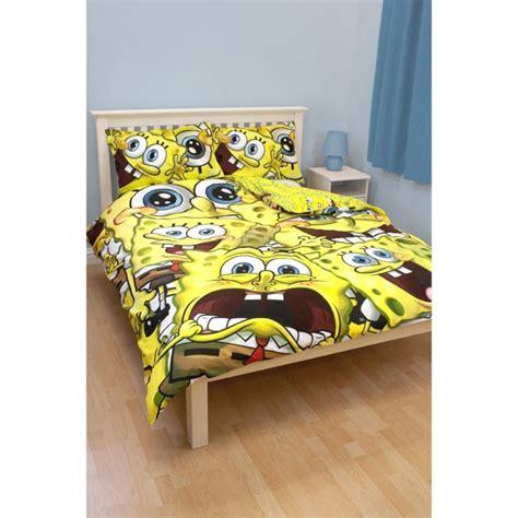 spongebob bed sets childrens spongebob squarepants quilt duvet cover