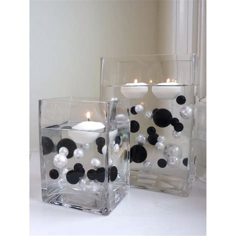 black and white decorations black and white wedding centerpiece idea trendy mods