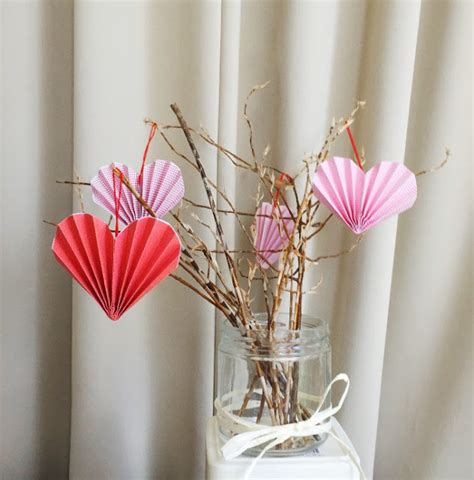 19 easy diy paper decorations for valentine s day