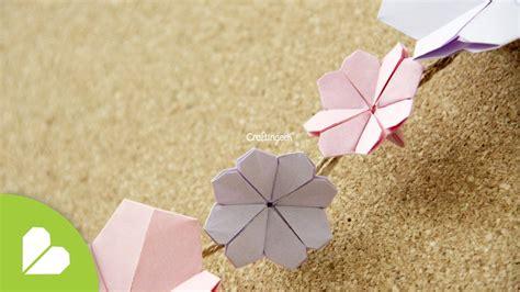 origami cherry blossom origami flor de cerezo cherry blossom