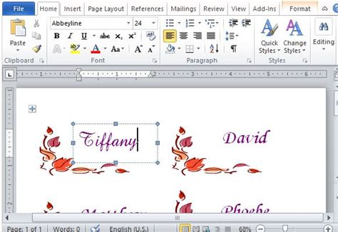 how to make table place cards in word thanksgiving place cards maker template for word
